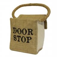 Sm Sq Cotton & Jute - DOOR STOP