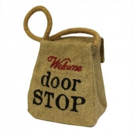 Sm Jute Ton Shape - Welcome Door Stop