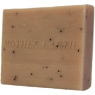 Rose & Poppy Herbal Soap - Approx 100gr Per Piece