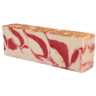Red Clay Olive Oil Artisan Soap Slice