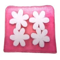 Flower Power Soap - 115g Slice (dewberry)