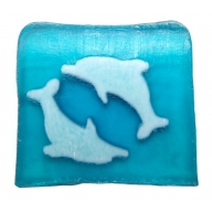 Dancing Dolphins Soap - 115g Slice (sea breeze)