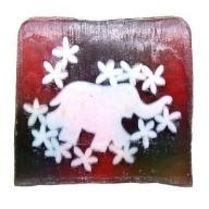 Pink Elephant Soap - 115g Slice (patchouli)