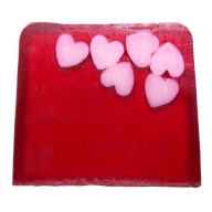 Happy Hearts Soap - 115g Slice (tuberose)