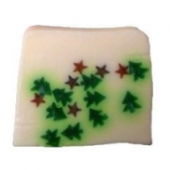 Mini Christmas Trees & Stars Soap - 1.5kg Loaf