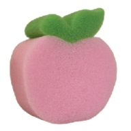 Pink Apple Sponge