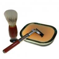 Old School Shaving Kit - Sage, Patchouli & Orange