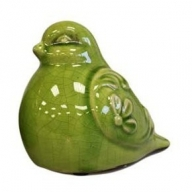 Fat Percy Pigeon - Lime