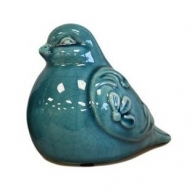 Fat Percy Pigeon - Teal