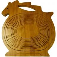 Bamboo - Horse - H 26cm x L 24cm