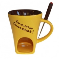 Chocolate Fondue Set - Banana