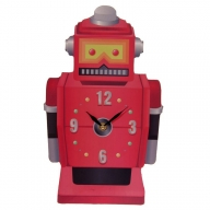 Ted Smith Retro Robot Shaped Picture Clock