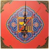 Sm Clock - Bringing Red Good Luck