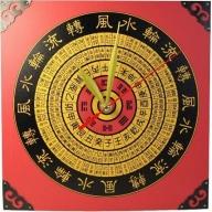 Lrg Clock - Compass