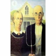 Gothic 3D Picture - American Nightmare Pair Med
