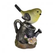 Tweet Alert - Yellow Bird on Watering Can