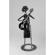 Heavy Metal Band - Female Bass Guitar