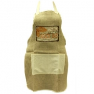 Soft Jute Apron - Beach Bar