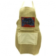 Soft Jute Apron - MUMS CAFE
