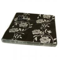 Black & White - Black Floral 2