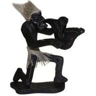 Primative Man Trumpet Player