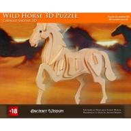 Wild Horse - 3D Wooden Puzzle