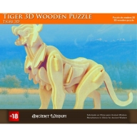 Tiger - 3D Wooden Puzzle