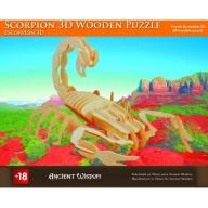 Scorpion - 3D Wooden Puzzle
