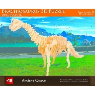 Brachiosaurus - 3D Wooden Puzzle