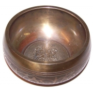 Large Ganesh Singing Bowl - Appr 100mm
