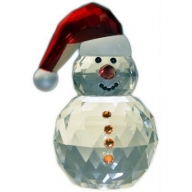 Crystal Snowman with Buttons