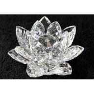 Crystal Lotus 100mm - Clear