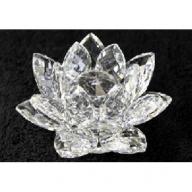 Crystal Lotus 100mm - Clear
