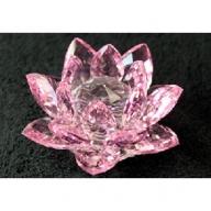 Crystal Lotus 100mm - Pink