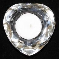 Star Crystal Night Light Holder-Heart