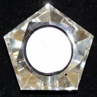 Star Crystal Night Light Holder-Pentagon