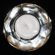 Star Crystal Night Light Holder-Round