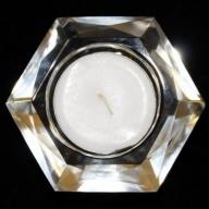 Star Crystal Night Light Holder-Hexagon