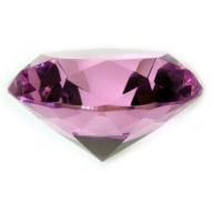 Diamond 100 mm - Rose