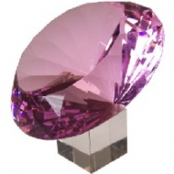 Diamond 200 mm - Rose