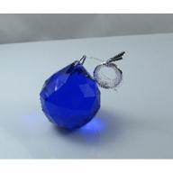 40mm Crystal Sphere Black Box - Dark Blue