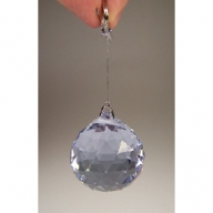30mm Crystal Sphere - Clear