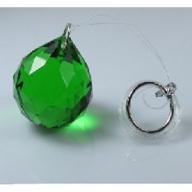 30mm Crystal Sphere - Green