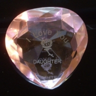 I Love You daughter & Rose Pink