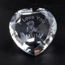 I Love You Mum & Rose Clear Heart
