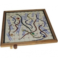 Retro Snakes & Ladders - Magnetic