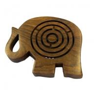 Elephant Maze Puzzle - 10 cm