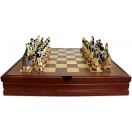 1x Themed Chess Set - Battle of Trafalgar- 35 cm