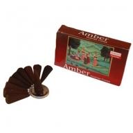 Darshan Premium - Amber Incense Cones