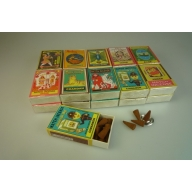 Matchbox Incense Cones Spicy Selection